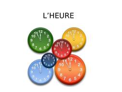 Notes: Quelle heure est-il?