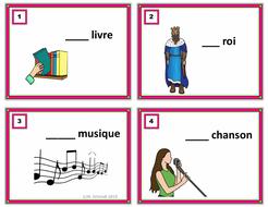 French Gender Task Cards: Le / La / L' **FREEBIE**