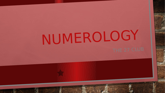 Assembly - Numerology and the 27 Club