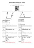 Vectors-(Collinear)-Homework-Sheet---Answers.docx