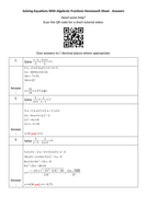 Solving-Equations-With-Algebraic-Fractions-Homework-Sheet---Answers.docx
