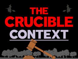 The Crucible: Context
