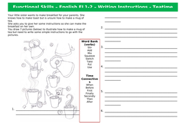 Functional-Skills-English-EL1-2---Instructions---Teatime.docx