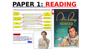 Alan Partridge - GCSE English Language Paper 1 (Fiction)