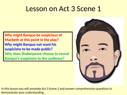 Macbeth Act 3 Scene 1 Lesson and Annotations