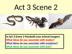 Macbeth Act 3 Scene 2