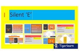 Silent E vs CVC PPT - long vs short vowel sounds