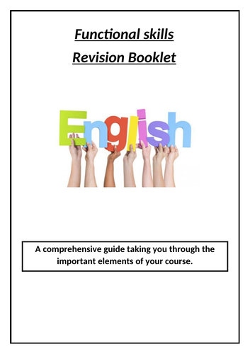 Functional Skills: Independent Learning Booklet