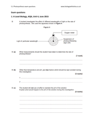 5.1 Photosynthesis exam questions | A Level Biology AQA