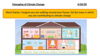 Management of Climate Change