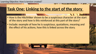 'The Hitchhiker' Remote Learning SOW