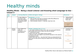 PSHE - Mental Health - 6 Lessons for KS1/KS2   Teaching ...