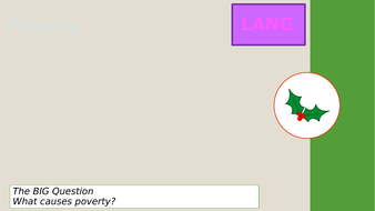 A Christmas Carol Language Paper 2 Poverty lesson | Teaching Resources