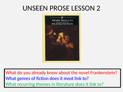 Frankenstein-unseen-prose-lesson-2.pptx
