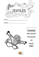Lucha Libre - Textiles unit of work