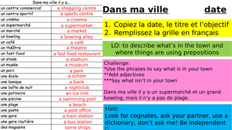 Year-9-French-Week-2-Lesson-1-Module-1-In-the-town.pptx