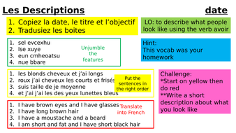 Year-9-French-Week-1-Lesson-3-Module-1-Descriptions.pptx