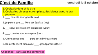 Year-9-French-Week-4-Lesson-3-Module-1-Family.pptx