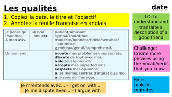 Year-9-French-Week-3-Lesson-2-Module-1-Friends.pptx