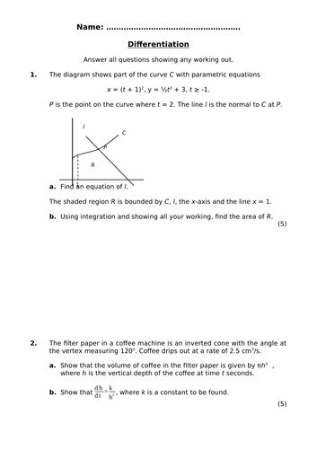 Pure Mathematics 4 Assessment Pack