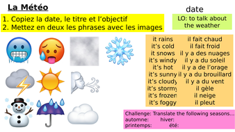 Year-7-French-Access-Studio-Lesson-11-Weather.pptx