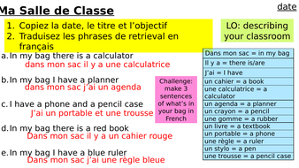 Year-7-French-Access-Studio-Lesson-7-classroom.pptx
