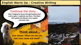 (Slideshow)-Warmup-Creative-Writing.pptx