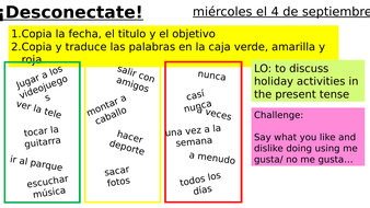 Year-10-Spanish-Week-1-Lesson-1-Module-1-Holiday-Activities.pptx
