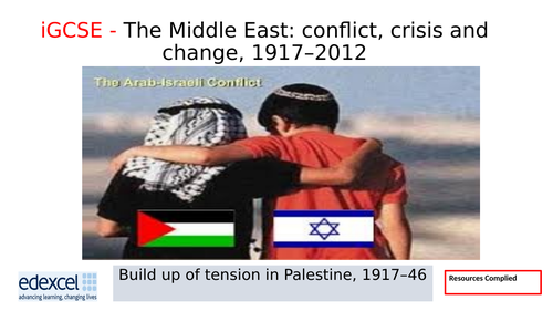 iGCSE History 1: Tension in Palestine 1919–46