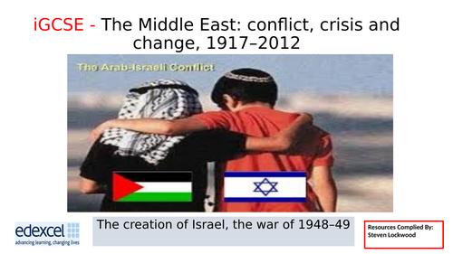 iGCSE History 5: Creation of Israel 1948