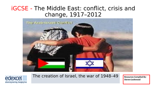 iGCSE History 6: Creation of Israel - Points of View