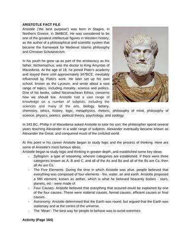 Aristotle's Virtue Ethics Notes