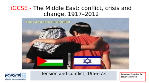 iGCSE History 11: Palestinian Resistance 1960-70s