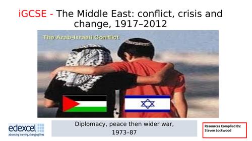 iGCSE History 13: Shuttle Diplomacy 1970-80s