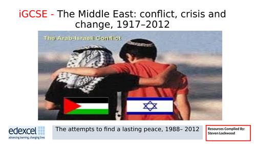 iGCSE History 20: Roadmap to Peace and the Gaza War 2003-12