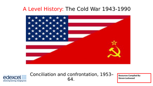 A-Level History 8: The Cold War - Shadow of the Bomb 1953-64