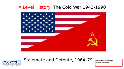 A-Level History 11: The Cold War - Detente, The Needs of the USSR 1964-79