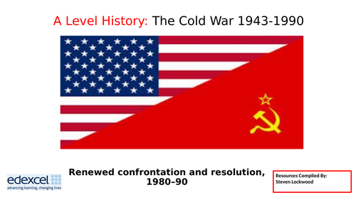A-Level History 18: The Cold War - Gorbachev 1980s