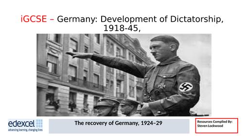 GCSE History: 8. Germany - Kellogg-Briand Pact/League of Nations 1924-29