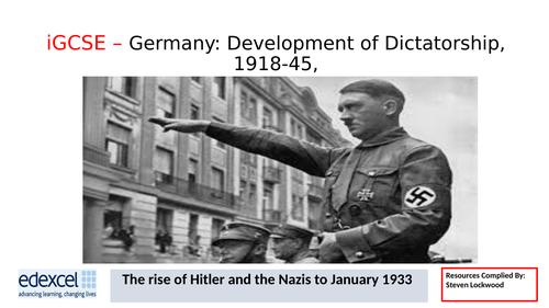 GCSE History: 10. Germany - Munich Putsch and Mein Kampf 1923-25
