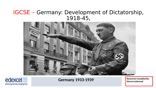 GCSE History: 13. Germany - The Enabling Act 1933