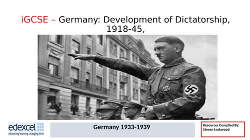 GCSE History: 15. Germany - Nazi Censorship, Propaganda and Education 1933-39