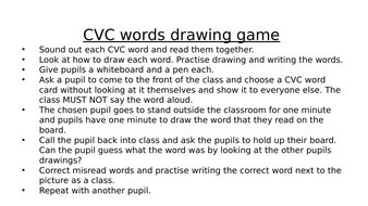 CVC drawing game
