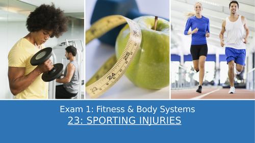 GCSE PE Edexcel 23: Sporting injuries