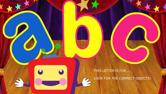 The alphabet game!