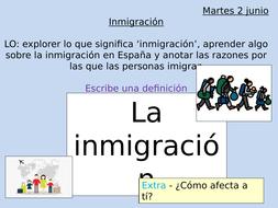 A Level Inmigración