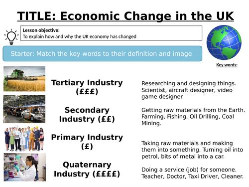 Changing Economic World  L14 - AQA GCSE