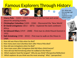Global Exploration Maths Challenges!