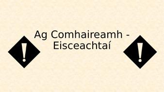 Ag-Comhaireamh---Eisceachta-.pptx