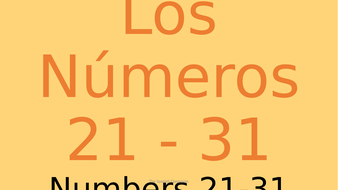 Numbers-in-Spanish-21---30..pptx